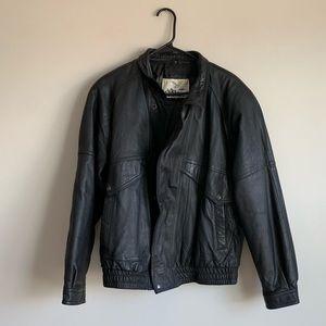 Other - Vintage Leather Jacket Medium [Adler]